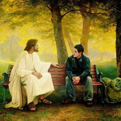 Joven Cristo te llama