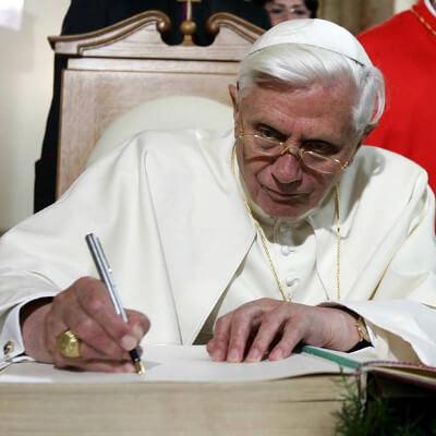 Benedicto a corazón abierto
