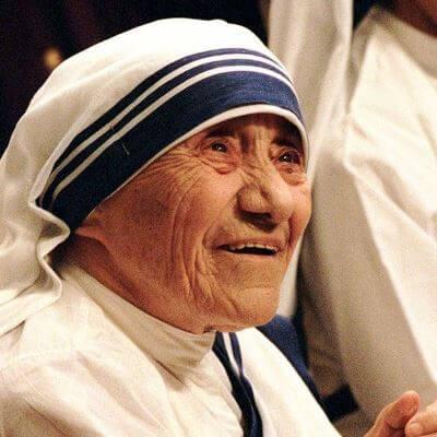 Madre Teresa icono de unidad
