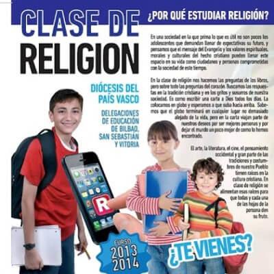 Asignatura de religión en el País Vasco
