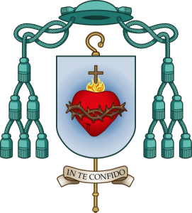 In te confido: escudo episcopal de Mons. Munilla