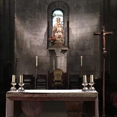 Encuentro sobre el acompañamiento espiritual en en Leyre